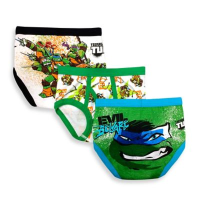 The Character Shop > Nickelodeon™ Teenage Mutant Ninja Turtles Size 4T 3-Pack Briefs