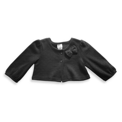 Baby Starters® Size 6M Cardigan in Black