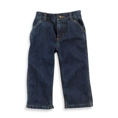 Carhartt® Size 18M Washed Denim Dungaree