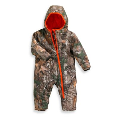 Carhartt Size 18M Real Tree Camo Snowsuit in Brown