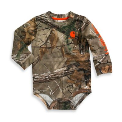 Carhartt® Size 12M Long Sleeve Bodyshirt Realtree Xtra®