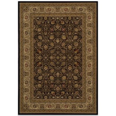 Momeni Royal 2-Foot 3-Inch x 7-Foot 10-Inch RY-02 Rug in Black
