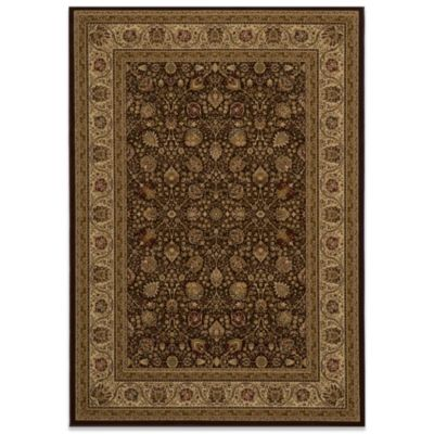 Momeni Royal 7-Foot 10-Inch Round RY-02 Rug in Brown