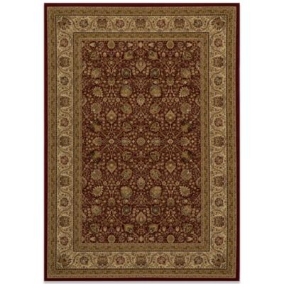 Momeni Royal 5-Foot 3-Inch x 7-Foot 7-Inch RY-02 Rug in Red