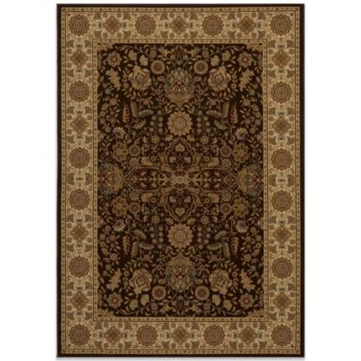 Momeni Royal 9-Foot 10-Inch x 13-Foot 6-Inch RY-03 Rug in Brown