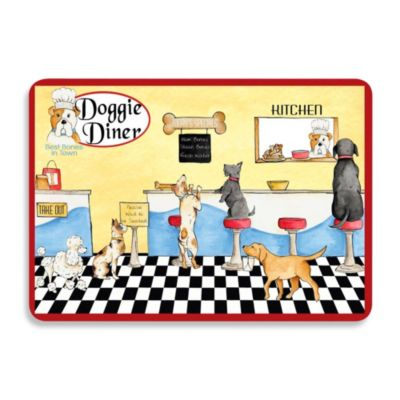 Bungalow Flooring 22-Inch x 31-Inch Doggie Diner Kitchen Mat