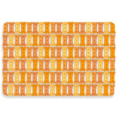 Bungalow Flooring 18-Inch x 27-Inch Dog Biscuit Kitchen Mat