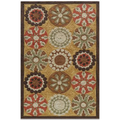 Momeni Summit 8-Foot x 10-Foot SUM-02 Rug in Gold