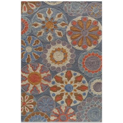 Momeni Summit 2-Foot 3-Inch x 7-Foot 6-Inch Rug in Blue