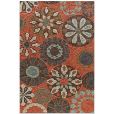 Momeni Summit 5-Foot x 7-Foot 6-Inch Rug in Terracotta