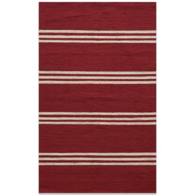 Momeni Veranda 2-Foot x 3-Foot Rug in Red