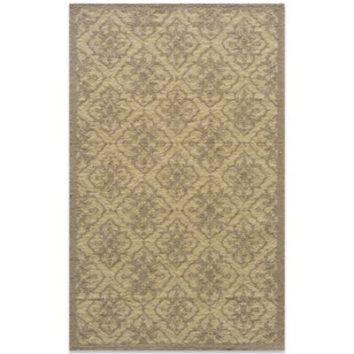 Taupe Round Rug