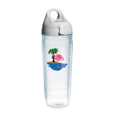 Tervis® Flamingo & Palm Tree 24 oz. Water Bottle with Lid