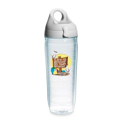 Tervis® Life is Better at the Beach 24 oz. Water Bottle with Lid