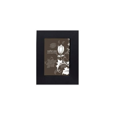 Prinz Soho 2-Inch x 3-Inch Wood Frame in Black