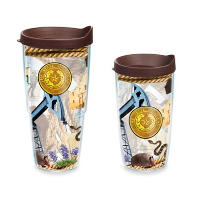 Tervis® Wrap Texas Collage 16 oz. Tumbler with Lid