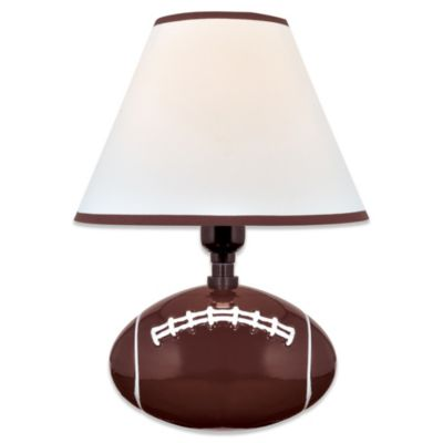 Lite Source Pass Me Football Table Lamp