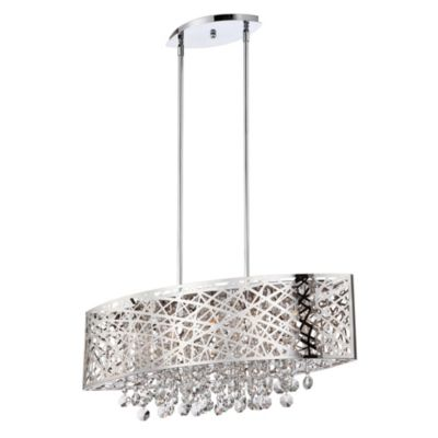 Lite Source Benedetta Pendant Five-Light in Chrome