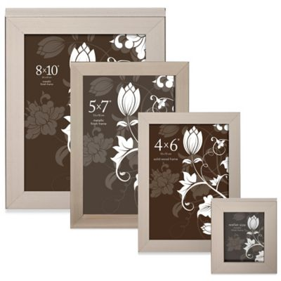 Prinz Soho 2-Inch x 3-Inch Picture Frame in Pewter