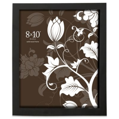 Prinz Soho 8-Inch x 10-Inch Wood Frame in Black