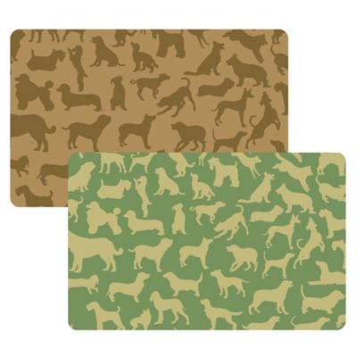 Green Decorative Floor Mats