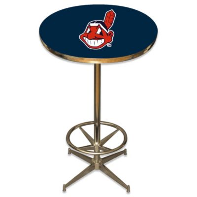 MLB Cleveland Indians Pub Table