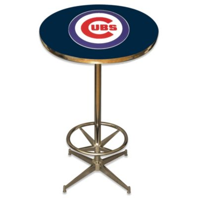 MLB Chicago Cubs Pub Table