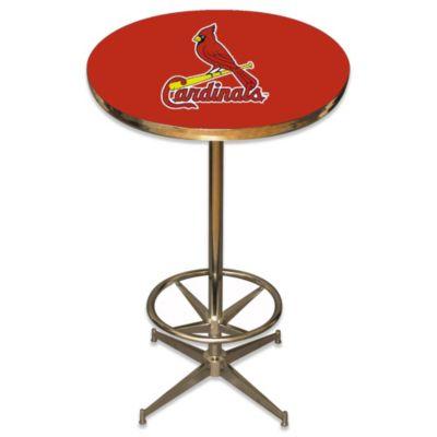 MLB St. Louis Cardinals Pub Table