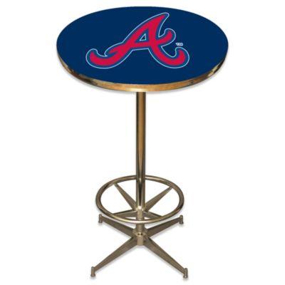 MLB Atlanta Braves Pub Table