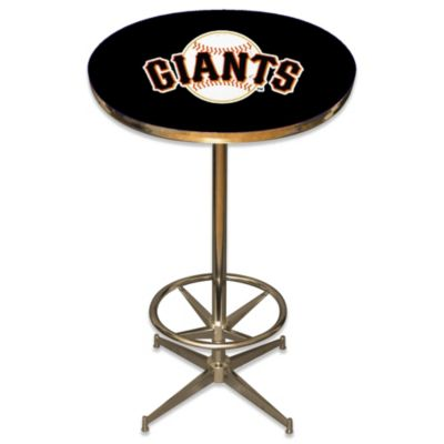 MLB San Francisco Giants Pub Table