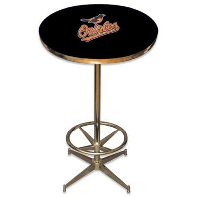 MLB Baltimore Orioles Pub Table