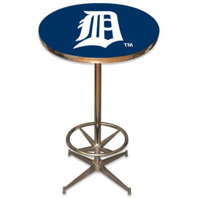 MLB Detroit Tigers Pub Table