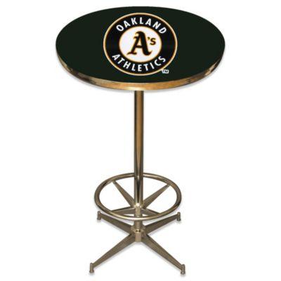 MLB Oakland Athletics Pub Table