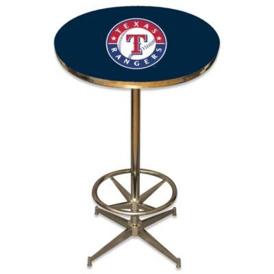 MLB Texas Rangers Pub Table