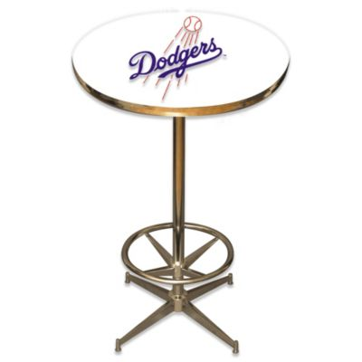 MLB Los Angeles Dodges Pub Table