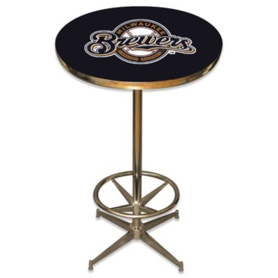 MLB Milwaukee Brewers Pub Table