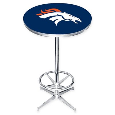 NFL Denver Broncos Pub Table