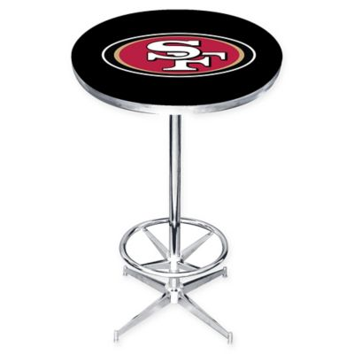 NFL San Francisco 49ers Pub Table