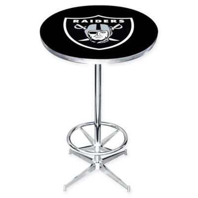 NFL Oakland Raiders Pub Table