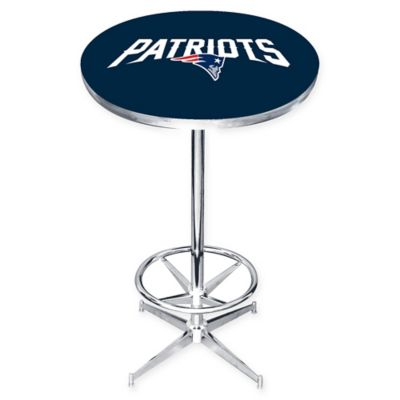 NFL New England Patriots Pub Table