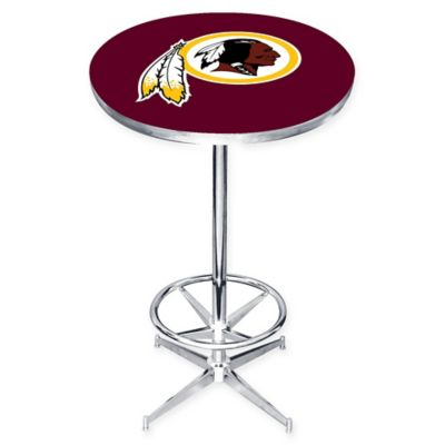 NFL Washington Redskins Pub Table