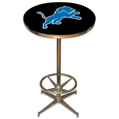 NFL Detroit Lions Pub Table