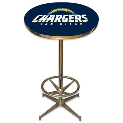 NFL San Diego Chargers Pub Table