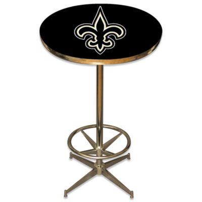 NFL New Orleans Saints Pub Table