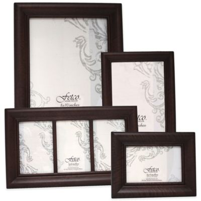 Fetco Home Decor™ Wood Photo Frames in Espresso