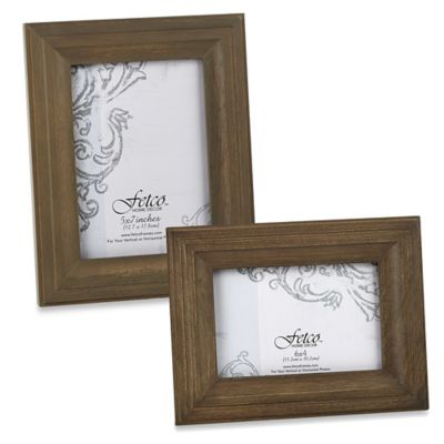 Fetco Home Decor™ Hartley Vintage Oak 6-Inch x 4-Inch Photo Frame