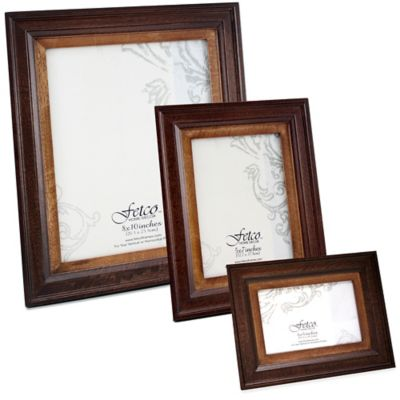 Fetco Home Decor™ Loren Two-Tone Espresso 8-Inch x 10-Inch Photo Frame