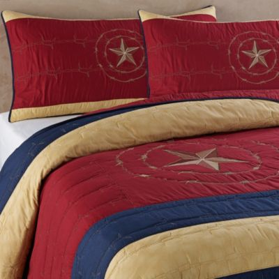 Donna Sharp True Texas Twin Quilt