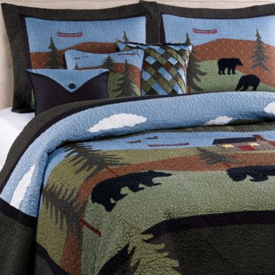 Donna Sharp Bear Lake Twin Quilt