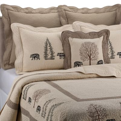 Donna Sharp Bear Creek European Pillow Sham